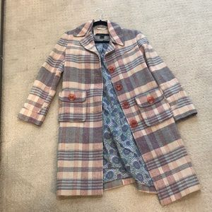 Marc by Marc Jacobs checkered coat 4 S